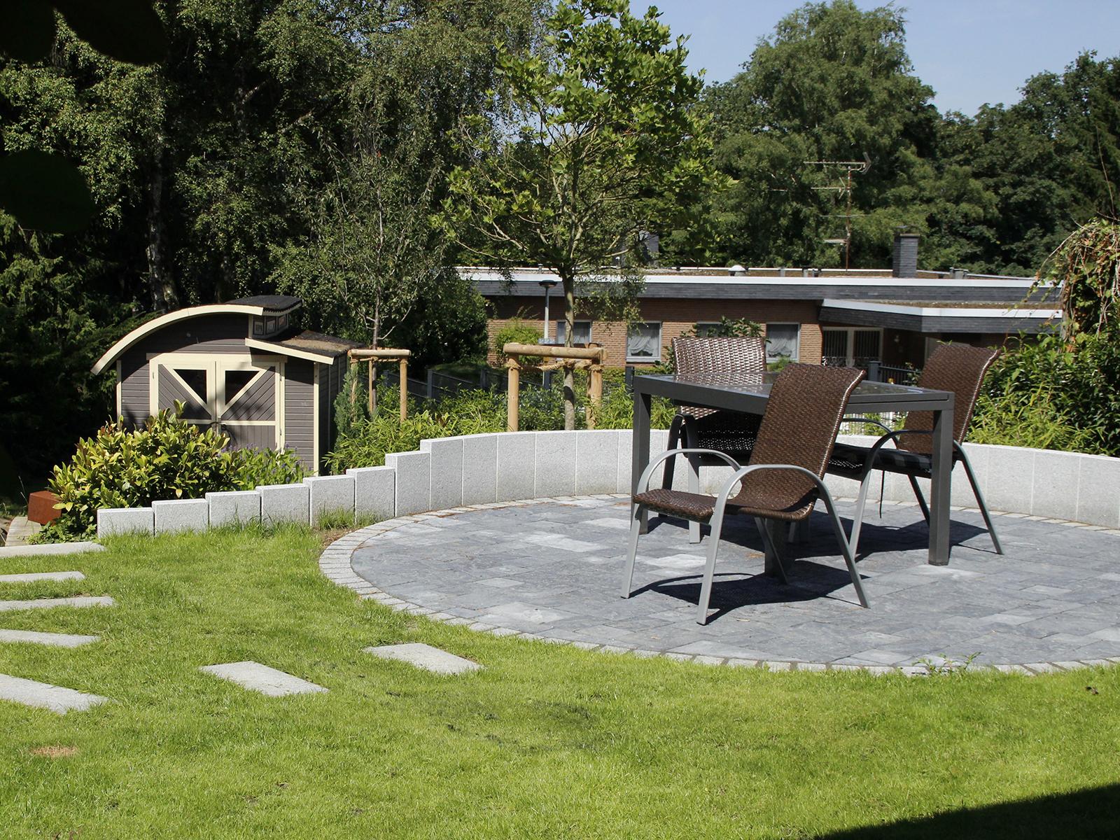 Romantisch Kombinierter Garten