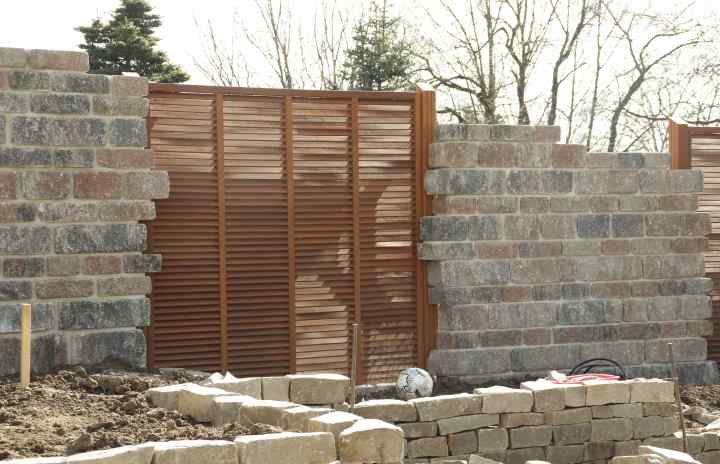 Zaun, Holz, Mauer, Stein, Steine